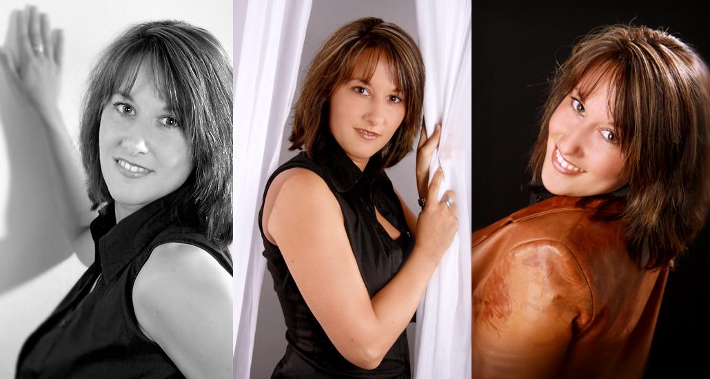 Damen Portraitaufnahme Fotostudio Foto Nitsche