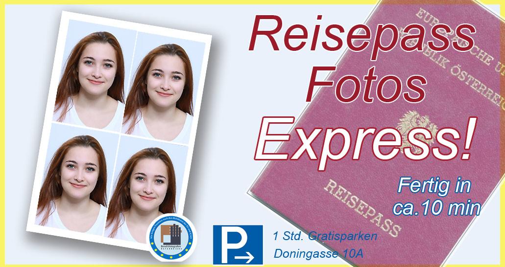 Express Passfotos Reisepass Foto