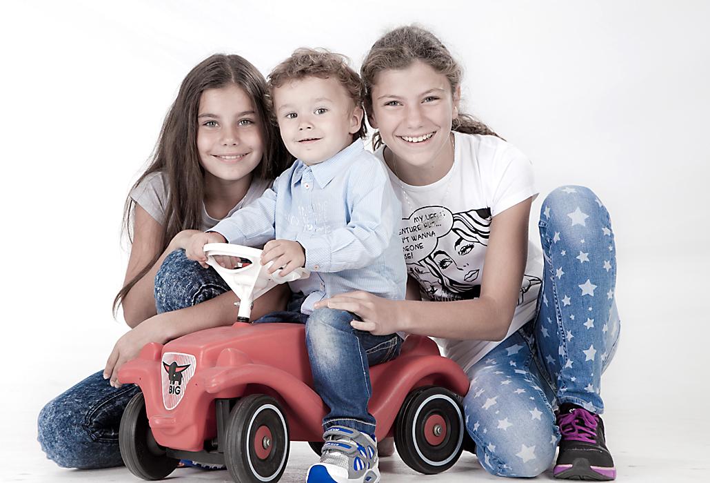 Geschwistergruppenportrait