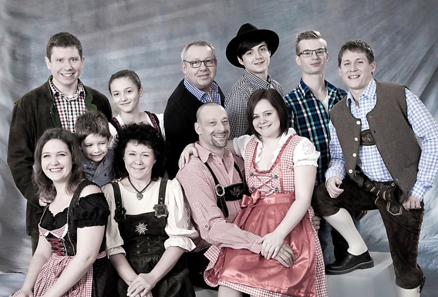 Grossgruppenportraitaufnahmen Foto Nitsche