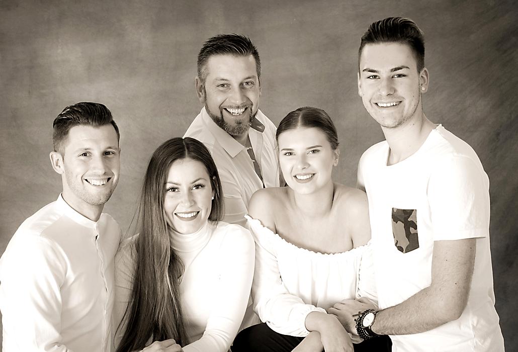 Gruppenporträtfotos